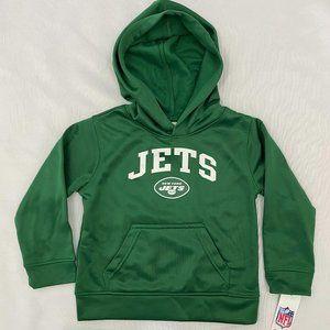 NY JETS New York Green Hoodie Sweatshirt 3T